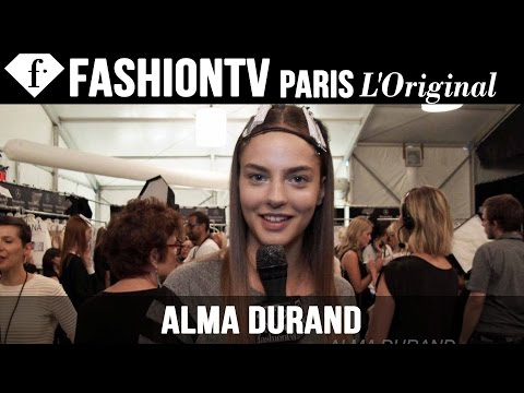 Model Alma Durand   Beauty Trends For Spring summer 2015   Fashiontv video