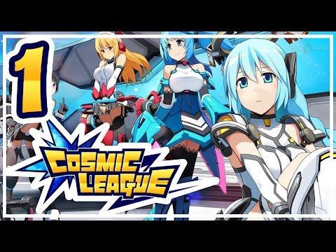 Cosmic League #001: Anime-Actionspiel mit MOBA-Einflüssen | Cosmic League Gameplay German