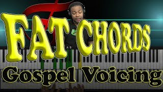 Fat Chords - How to voice 9th, 11th, & 13th Chords