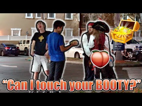 """""""Can I touch your BOOTY?"""" **PRANK** thumbnail"""