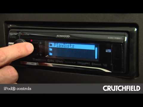 Kenwood Excelon KDC-X997 Car Stereo Display and Controls Demo | Crutchfield Video