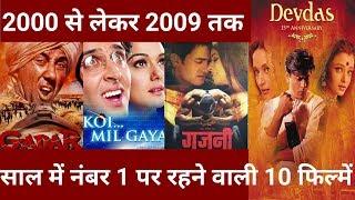 Top Ten Bollywood Movies | जानिए 2000 से लेकर 2009 तक कि टॉप 10 फ़िल्मों के बारे में