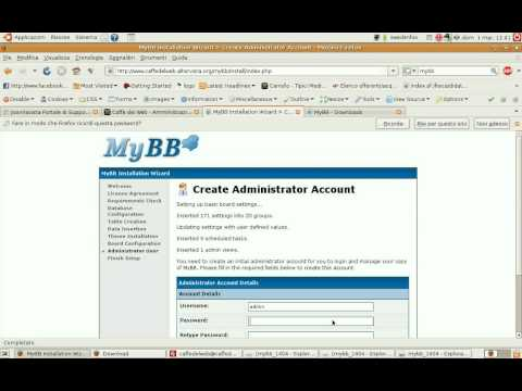 Integrate Mybb in Joomla 1.5.9 with Jfusion ---Italian--- Part 1