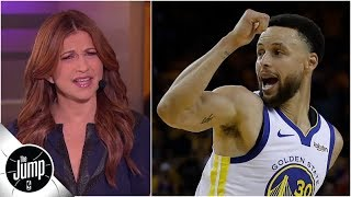 Don't make things so easy for Steph Curry! - Rachel Nichols calls out Blazers for Game 1 | The Jump