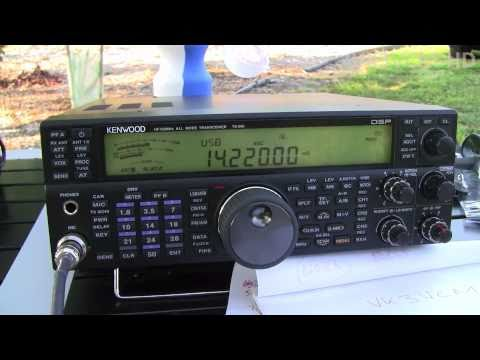 VK3VCM Portable 19th March 2011 in QSO with YT1HA Serbia using Buddipole Deluxe Antenna