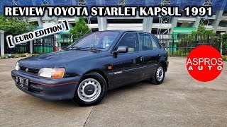 FULL REVIEW : STARLET KAPSUL EP81 TAHUN 1991 By ASPROS AUTO