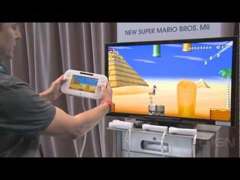 New Super Mario Bros Mii (Wii U) - E3 2011: Hands On Demo