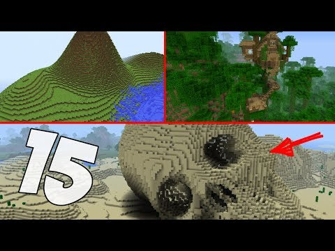 TOP 15 ЛУЧШИХ СИДОВ  для Minecraft PE 1.2.8 - 1.3