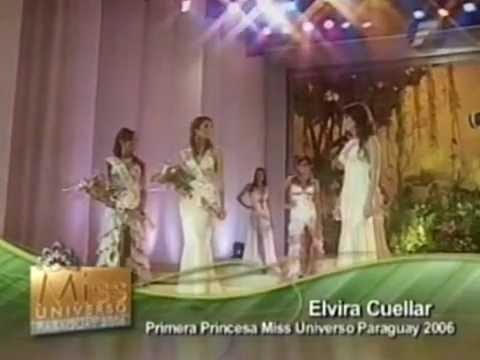 Miss Universe Paraguay 2006 - Finalist and Crowning Moment