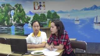 Phỏng vấn Skype lao động Quản Thị Thanh Xuân- Cổng thông tin tư vấn xuất khẩu lao động Bảo Minh