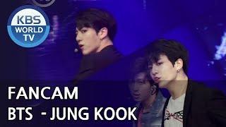 [FOCUSED] BTS's JUNGKOOK - Fake Love [Music Bank / 2018.06.08]