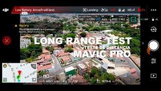 Mavic Mod - Long Range - Gimbal Error - Force Landing - ocaradati