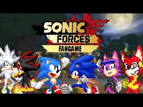 Sonic Forces 2D Fan Game (By Erizo Azul)