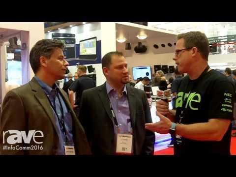 InfoComm 2016: Gary Kayye Interviews TJ Adams and Chris Humphrey at the QSC Booth