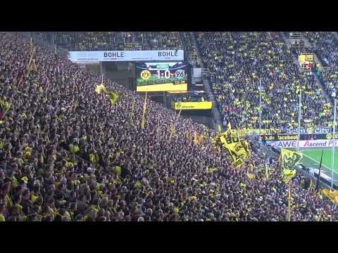 Stimmung Südtribüne: Borussia Dortmund - Hannover 96 (BVB Bundesliga 2013/14)