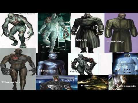Descripcion de los Virus del Resident Evil - El Virus T - LOQUENDO