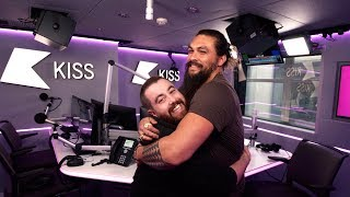 Jason Momoa talks unemployment and nearly becoming ACTUAL Batman 😮