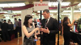 bnetTV interviews McAfee at PEPCOM Holiday Spectacular Event in NYC