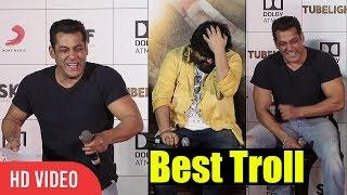 Salman Khan Trolls Pritam | Can't Stop laughing | Tubelight Official Trailer Launch