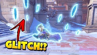 New RARE Mei Death Glitch?!? - Overwatch Funny Moments & Best Plays 54