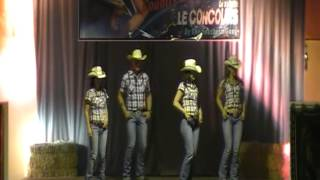 LOLA - ADDICTED - Concours de country Style Catalan - France