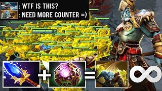 MOST HIV/AIDS Build Scepter + Octarine Lancer Mid 2s Doppelganger by Nikko Trolling Game Dota 2