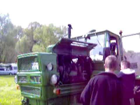 Starten eines T150K Russentreffen Oberlungwitz 2010