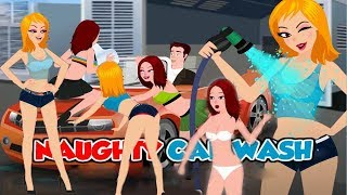 NAUGHTY CAR WASH Walkthrough (flash game)