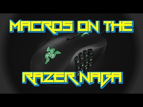 How to Macro The Razer Naga (Razer Synapse 2.0)