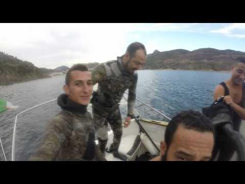 Chasse sous-marine Collo, Skikda, Algeria