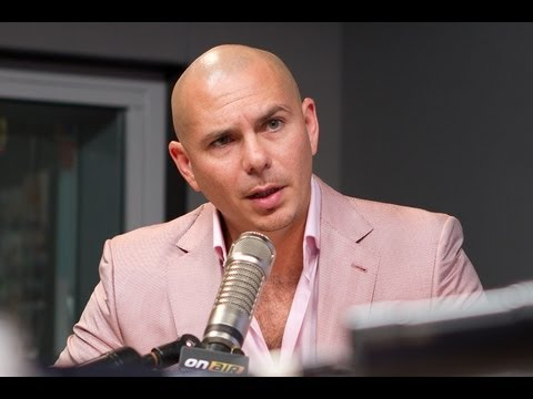 Pitbull In Studio PART 2 | Interview | On Air with Ryan Seacrest