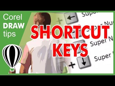 Some Short Cut Keys in CorelDRAW
