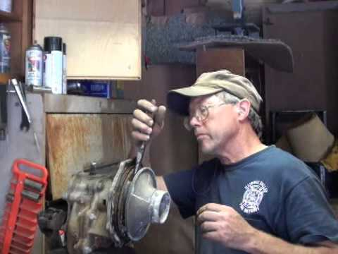 Part 1 1968 GMC Water Truck Pump Repair Gorman Rupp 350 GPM