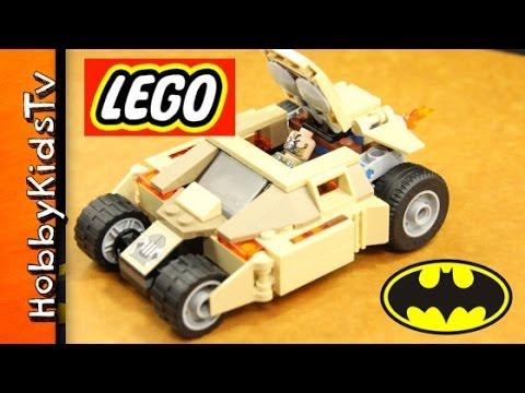 lego bane tumbler car batman super hero box open. Black Bedroom Furniture Sets. Home Design Ideas