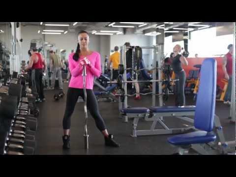 Дельтовидные мышцы (Урок 4) Яна Кащеева