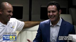 Celebrity news host Brian Kilmeade likes Airstream Interstate Motorhome