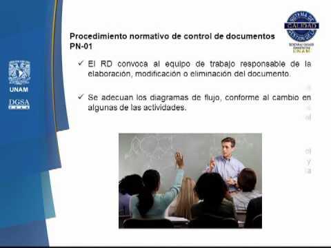 Control de Documentos y de Registros / Sistema de Gestión de la Calidad UNAM