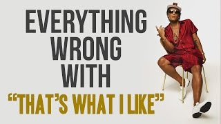 "Download Lagu Everything Wrong With Bruno Mars - ""Thats What I Like"" Gratis STAFABAND"