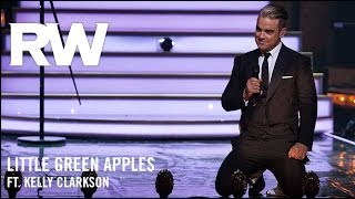 Watch Robbie Williams Little Green Apples video