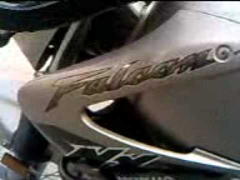 Honda Falcon NX 400 Video