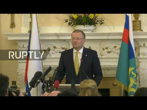 Live: Russian Ambassador to UK holds press conference in London