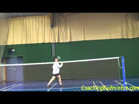 Drop Shots in Badminton Badminton Backhand Drop Shot