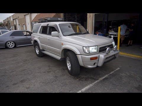 JDM RHD 3.0L Turbo Diesel 4cyl 4x4 Toyota Hilux Surf For Sale