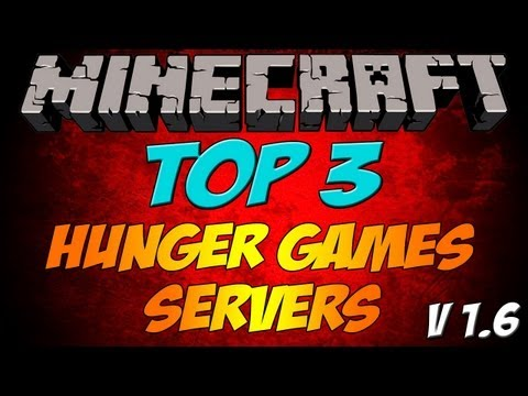 Minecraft | Top 3 Hunger Games Servers 1.7.9