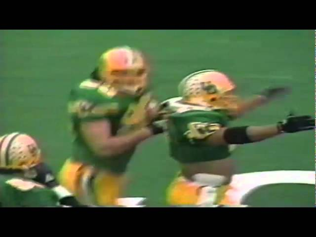 Oregon LB Terrell Edwards sacks Stanford QB Steve Stenstrom 11-02-91