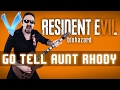 Resident Evil 7 Go Tell Aunt Rhody Epic Metal Cover Little V mp3
