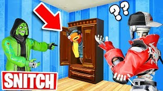 SNITCH or LOSE! *NEW* Hide & Seek Gamemode in Fortnite Creative