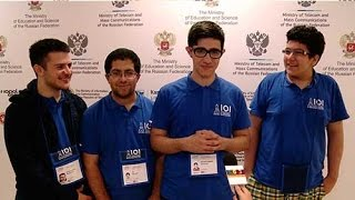 Iranian team IOI 2016 in Kazan Russia