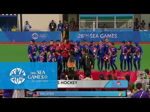 Hockey Women Victory Ceremony (Day 7) | 28th SEA Games Singapore 2015