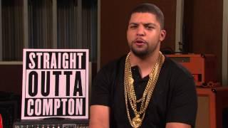 Antoine interviewt ICE CUBE  (O'Shea Jackson, Jr.)